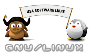 Usa Software Libre